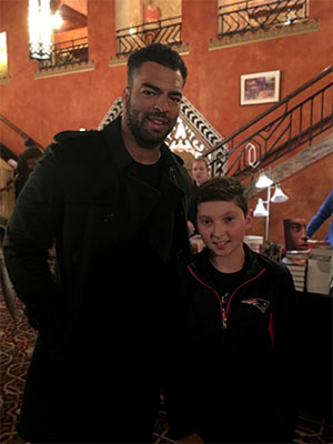 Kyle Van Noy makes a 12-year-old boy's night